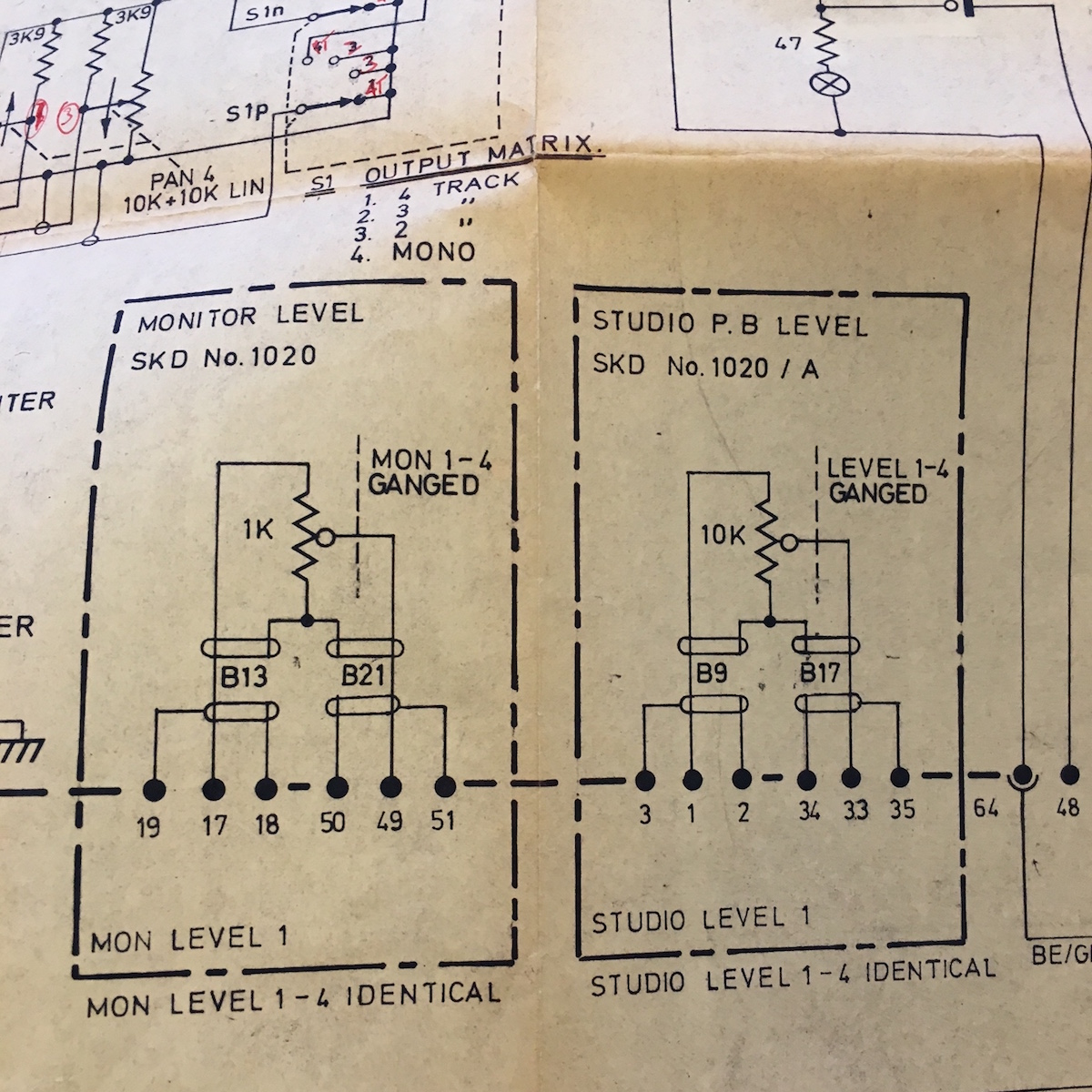 Neve Schematic on